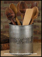#UH2 Farmhouse Utensils Holder