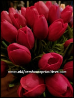 #RT3 Spring Red Tulips