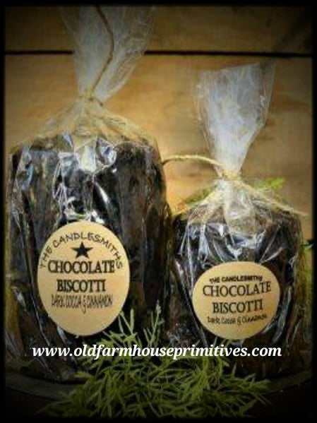#TCS5 Primitive Chocolate Biscotti Candle (Made In USA)