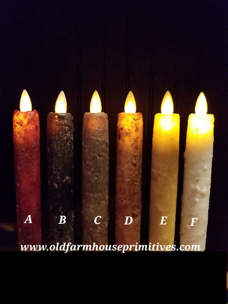 Rj12 Primitive Moving Flame Candle Sticks Made In Usa