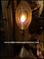 "#PTL12 Primitive Colonial Tin Light  ""Hunter""(Made In USA)"