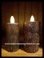 "#RJ16 Primitive Flameless Candle ""Black"" (Made In USA)"