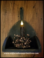 #PT12 Primitive Wood Candle Sconce (Made In USA)