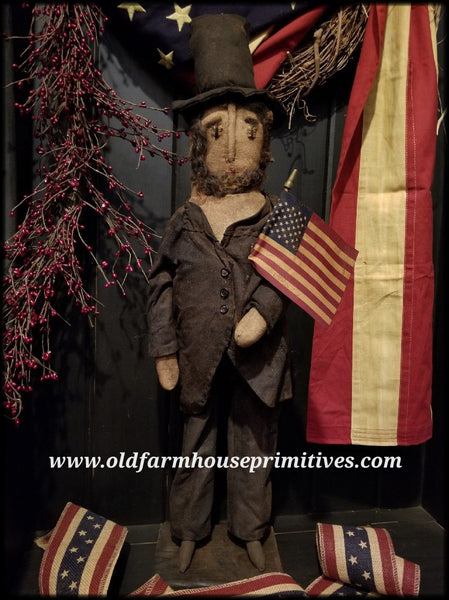 "#RP35 Primitive Americana ""Abe Lincoln"" (Made In USA)"