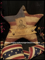 #RP26 Primitive Americana Abe Lincoln Star (Made In USA)