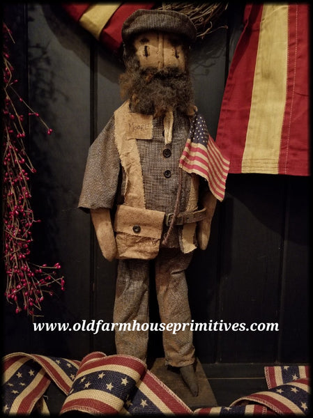 #RP45 Primitive Standing Union Soldier (Made In USA)