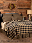 #BCS2 Primitive Black Check Bedding