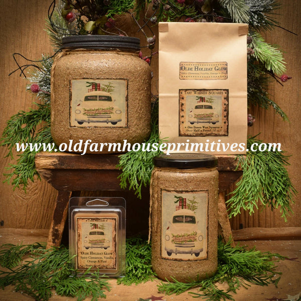 "#OHG2 Primitive Soy Blend ""Olde Holiday Glow"" (Made In USA)"