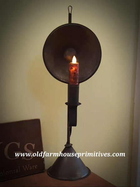 "#PTL25 Primitive Tin Light ""Mini Cyrus"" Moving Flame (Made In USA)"