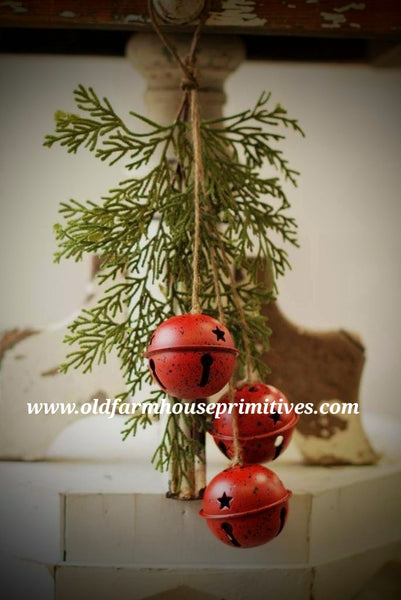 #LHH6 Holiday Jingle Bell Pine Ornament