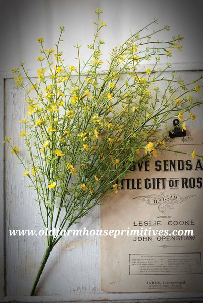 "#LHH16 Day Blooms 23"" Bush In Yellow (ON ORDER)"
