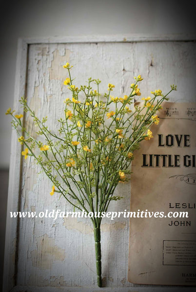 "#LHH17 Day Blooms 14"" Bush In Yellow (ON ORDER)"