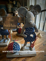 "#LTB1 Primitive Mouse ""Old Lazy Days Of Summer"" (Made In USA)"