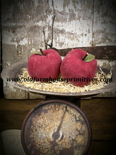 #HM11 Primitive Large Red Fabric 🍎 Apples
