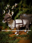 "#CY82C Craig Yanke small Reindeer ""Head Turned"" (Made In USA)"