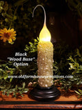 "#VJ2 Primitive Remote Battery Operated LED Candle ""Spicy Rosehip"" (Made In USA)"