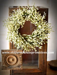 "#LHH23 Array Astilbe Candle Ring  14"" In Cream"