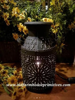#PMCL1 Primitive Black Textured Milk Can Light