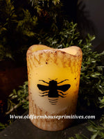 #PMICBC Primitive Bee Flameless Candle
