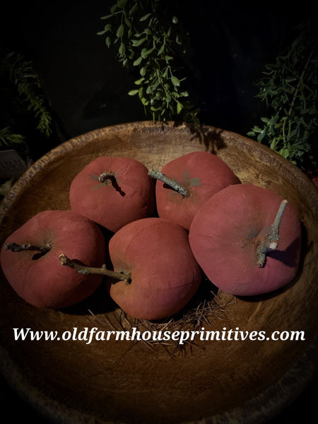 #PRSA Primitive Grubby Red Apple (Made In USA)