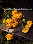 #RHLSMB Golden Yellow Long Stem Marigold Stem