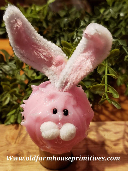 "#VJRPB Pink ""Bunny Rabbit"" Furry Friend Silicone Bulb"