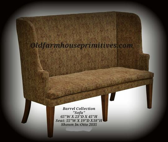 Barrel Collection Sofa