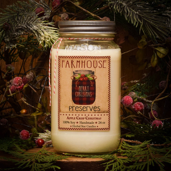 #HSACC Apple Crisp Christmas Candle (Made In USA)