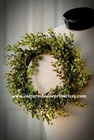 "#LH13 Lemon Beauty Candle Ring 12"" Green"