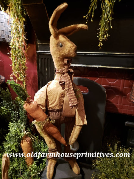 #RP96 Primitive Standing Boy Rabbit (Made In USA)