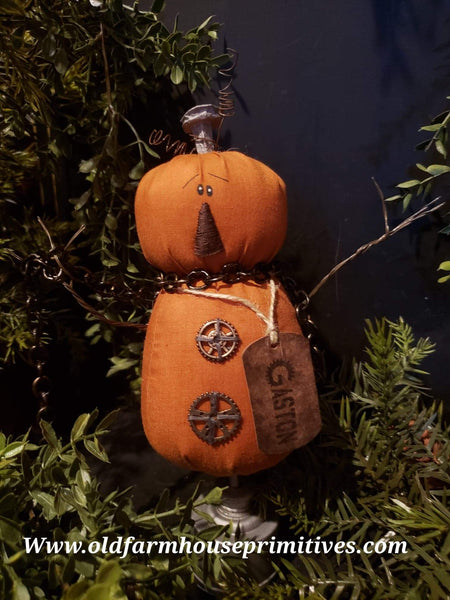 "#HM2 Primitive Jack-o-lantern 🎃 ""Gaston N. Gear"""