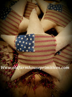 #TBHFS Primitive American Flag Star