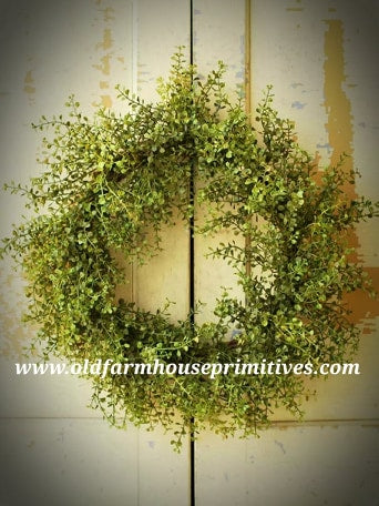 "#LHH24 Baby's Grass 20"" Wreath"