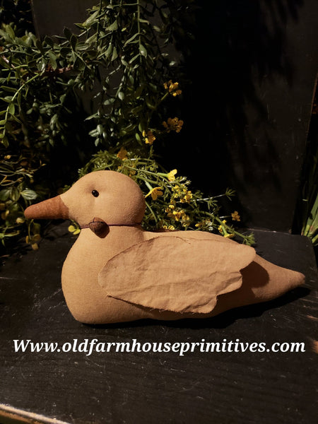 #EVCPD1 Primitive Handmade Baby Duck (Made In USA)