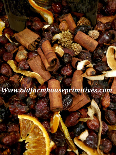 "#POCP Primitive ""Orange Clove"" Potpourri"