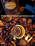 "#POSP Primitive ""Orange Clove Spice"" Potpourri"