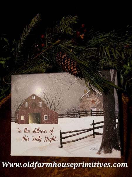 "#LBCC3 Legacy Boxed Christmas Cards ""A Light In The Stable"" Set 20"