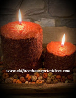 #TCS8 Primitive Pumpkin Butter Cake Candle (Made In USA)