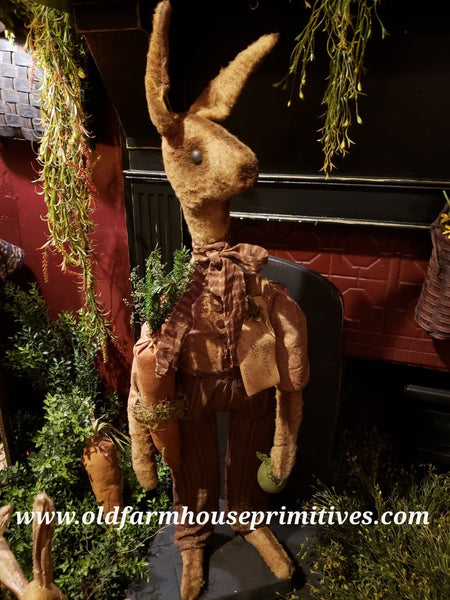 #RP95 Primitive Standing Boy Rabbit (Made In USA)