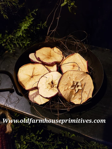 #GFBF1 Primitive Dried Apple Slices Bowl Fillers (Made In USA)