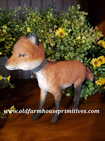"#CY71Craig Yenke Large Pippy The Fox ""Walking"" (Made In USA)"