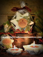 #TCS17  Cranberry Sugar Cookie Candle Kit (Made In USA)
