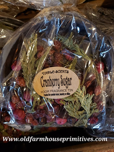 #TCS23 Primitive Cranberry Sugar Tindle Kit