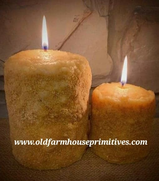 #TCS1 Primitive Lemon Shortbread Candle (Made In USA)