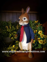 "#CY143 Craig Yenke Large Standing ""Peter Rabbit"" (Made In USA)"