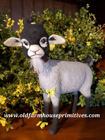 "#CY26 Craig Yenke Standing ""Black Face"" Billy The Goat (Made In USA)"