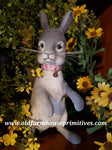 #CY2D Craig Yenke Small Standing Grey Rabbit (Made In USA)