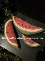 "#GFBF11 Primitive ""Medium"" Watermelon Slice  (Made In USA)"