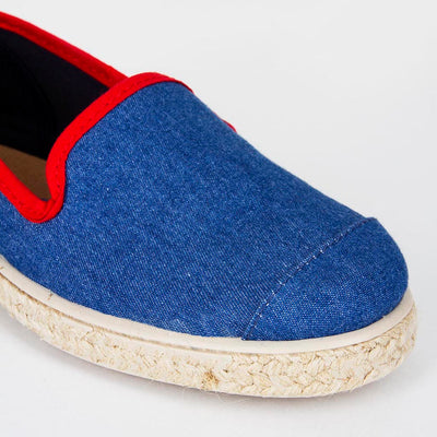 Espadrille Sneaker enfant Light Denim Hast collab slip-on