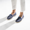 Classic Slip-On Navy Homme ANGARDE coton summer sunrise bleu marine casual chic